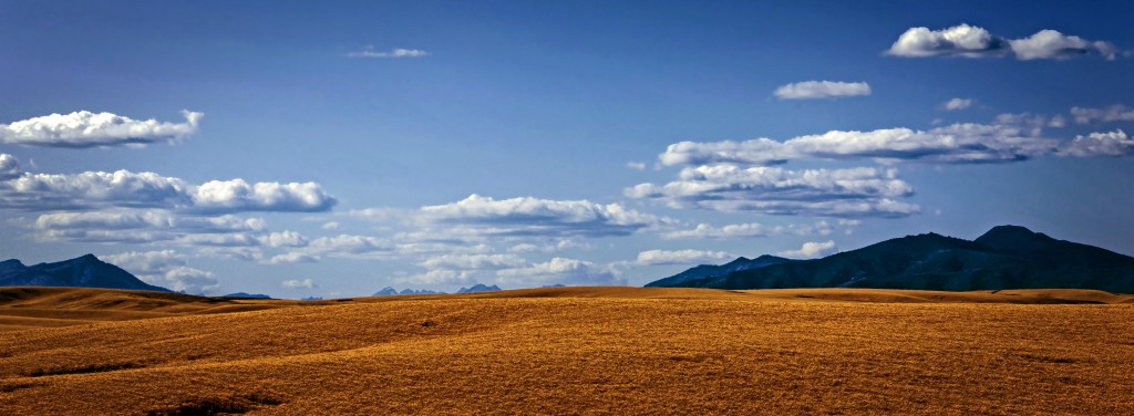 """Spacious Skies, Amber Waves of Grain, Purple Mountains Majesty"" taken near Waterville, WA (c) 2013 Don Detrick"