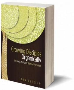 Growing Disciples Organically Book Cover Photo